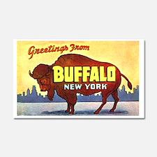 Buffalo New York Greetings Car Magnet 20 x 12