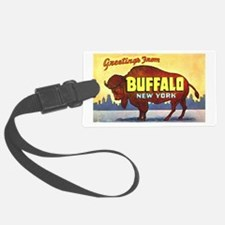 Buffalo New York Greetings Luggage Tag