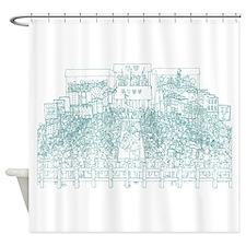King Rene Tournament Shower Curtain