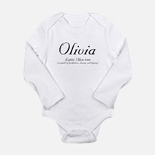 Olivia Meaning Body Suit