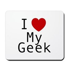 I love my Geek Mousepad