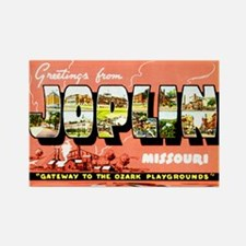Joplin Missouri Greetings Rectangle Magnet