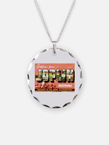 Joplin Missouri Greetings Necklace