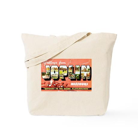 Joplin Missouri Greetings Tote Bag