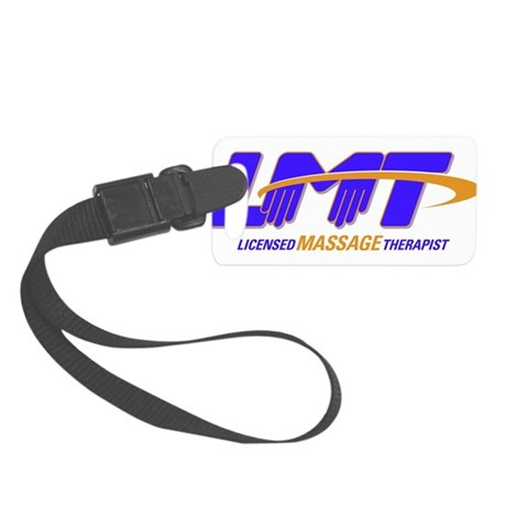 LMT Licensed Massage Therapist Small Luggage Tag