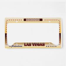 Vegas Addicted License Plate Holder