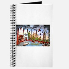 Marquette Michigan Greetings Journal