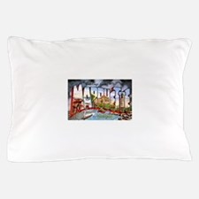 Marquette Michigan Greetings Pillow Case