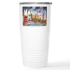 Marquette Michigan Greetings Travel Mug