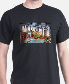 Marquette Michigan Greetings T-Shirt