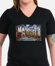 Marquette Michigan Greetings Shirt