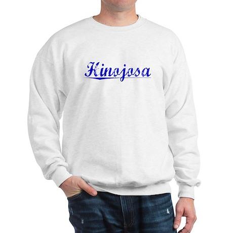 Hinojosa, Blue, Aged Sweatshirt