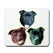 Staffy Pup Mousepad