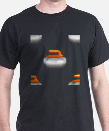 Emoji Curling Stone T-Shirt