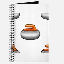 Emoji Curling Stone Journal