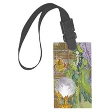 Emerald Oracle Luggage Tag