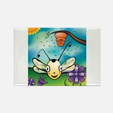May Your Day Bee Sunny! Rectangle Magnet