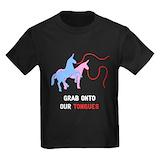 Charlie the unicorn Kids T-shirts (Dark)