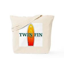1969 Twin Fin Tote Bag