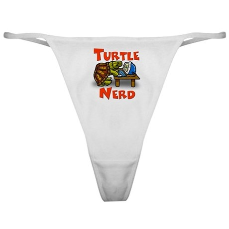 Turtle Nerd Thong