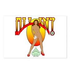 ALL IN? Morena Postcards (Package of 8)