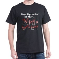 Bass Clarinet Ninja T-Shirt