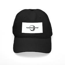 AppleSomethings Logo Baseball Hat, Black