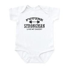 Future Strongman Onesie