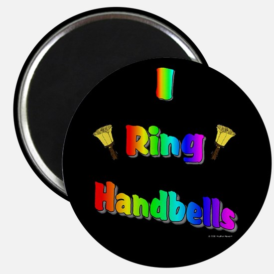 I Ring Handbells Black Magnet