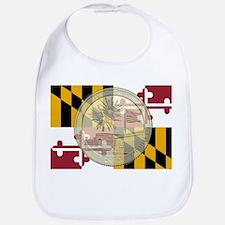 Maryland Quarter 2013 Cotton Baby Bib