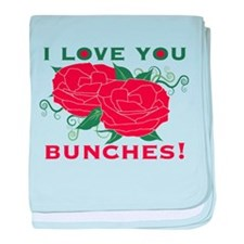 Love You Bunches! baby blanket