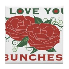 Love You Bunches! Tile Coaster