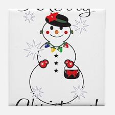 Merry Christmas! Tile Coaster