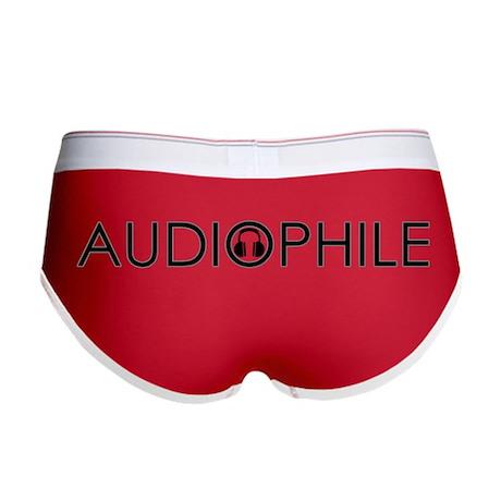 Audiophile Women's Boy Brief