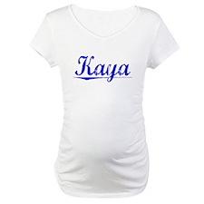 Kaya, Blue, Aged Shirt
