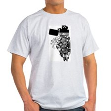 Chad G. Made in Illinois T-Shirt