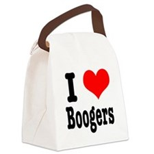 boogers.png Canvas Lunch Bag