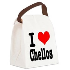 chellos.png Canvas Lunch Bag