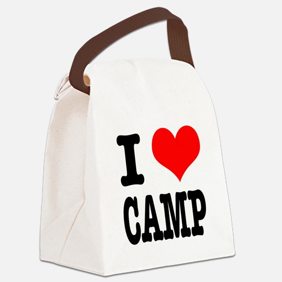 CAMP.png Canvas Lunch Bag
