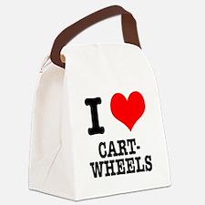 CARTWHEELS.png Canvas Lunch Bag