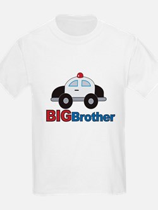 Police Car Big Brother T-Shirt