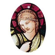 St Margaret Ornament (Oval)