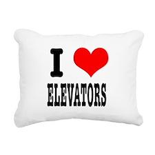 ELEVATORS.png Rectangular Canvas Pillow
