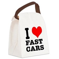 fast cars.png Canvas Lunch Bag