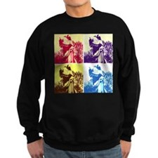 Dinosaur T-Rex Pop Art Sweatshirt