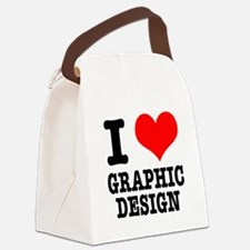 GRAPHIC DESIGN.png Canvas Lunch Bag