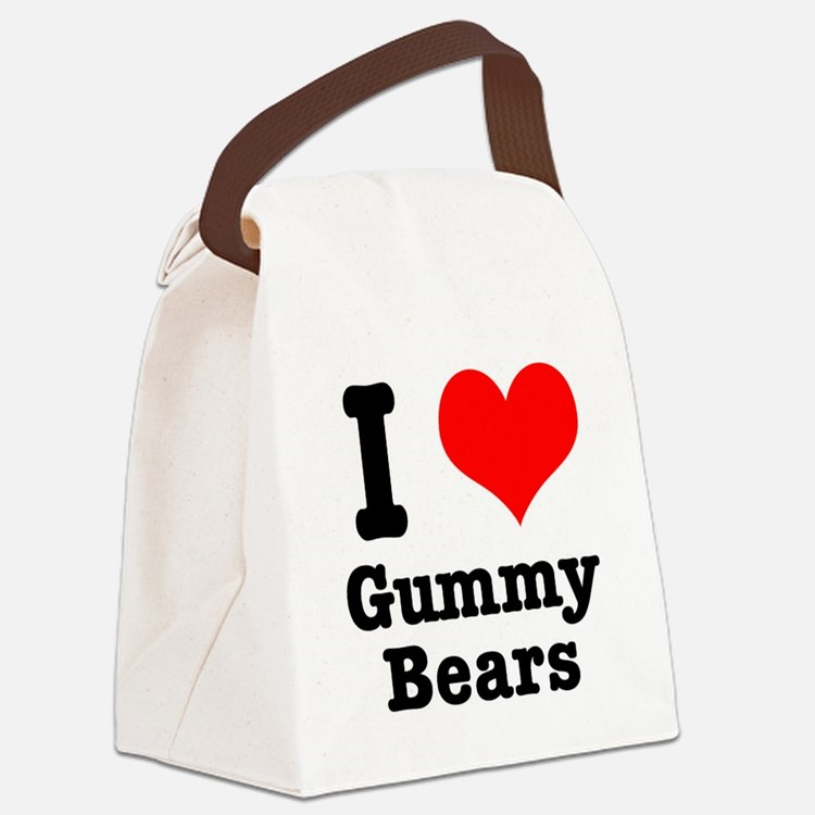 gummy bears.png Canvas Lunch Bag