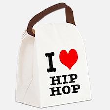 HIP HOP.png Canvas Lunch Bag
