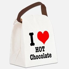 hot chocolate.png Canvas Lunch Bag