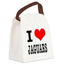JAGUARS.png Canvas Lunch Bag